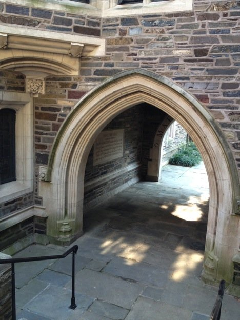 Typical Archway in Residence Hall buildings