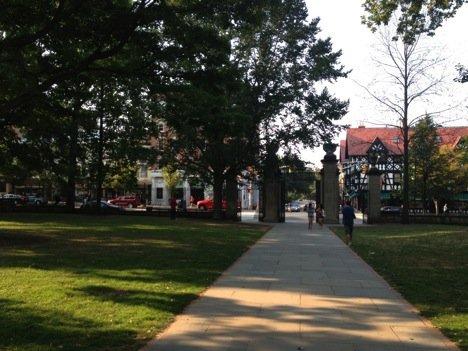 View toward Nassau Street